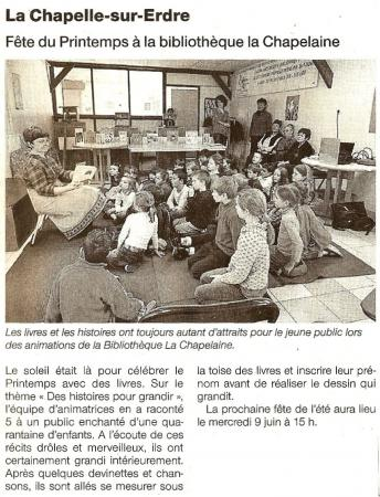 Article fête du printemps